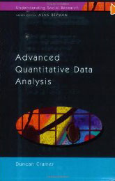 Advanced Quantitative Data Analysis